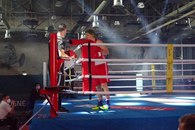 SC Colonia Nadine Apetz Lukas Wilaschek Cologne Boxing World Cup 2021