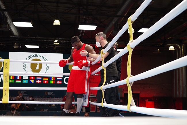 SC Colonia Nelvie Tiafack Lukas Wilaschek Cologne Boxing World Cup 2021