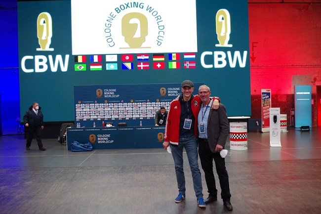 SC Colonia Prof. Dr. Rolf Sobottke Hans Ehle Cologne Boxing World Cup 2021